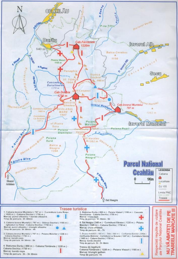 parcul-national-ceahlau-map